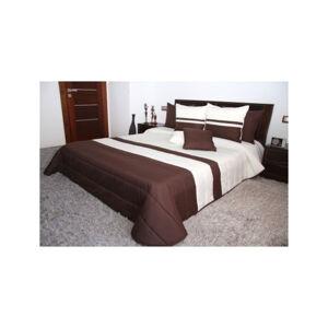 Kvalitní přikrývky na manželskou postel krémově hnědé barvy