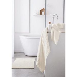 Osušky do koupelny v máslové barvě 50 x 90 cm