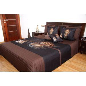 Přehoz na postel 220x240 s leopardem