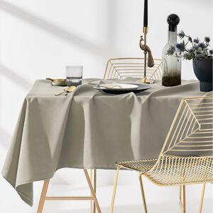 Ubrus na stůl v béžové barvě 140 x 260 cm